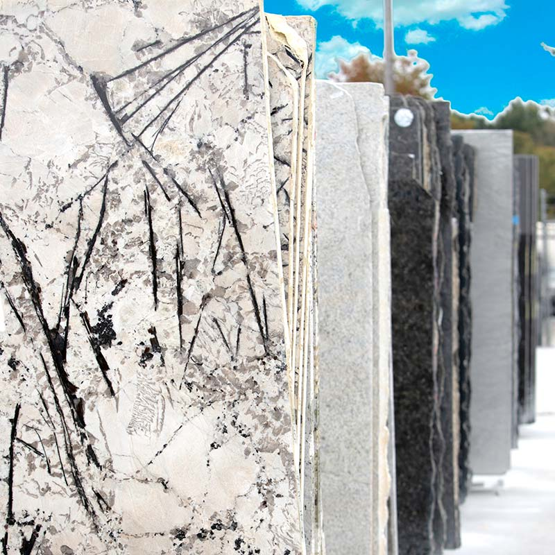 Choosing a granite slab for your kitchen in Charlotte