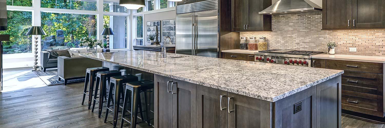 Granite countertops Complete Kitchen and Bath Design Studio Charlotte