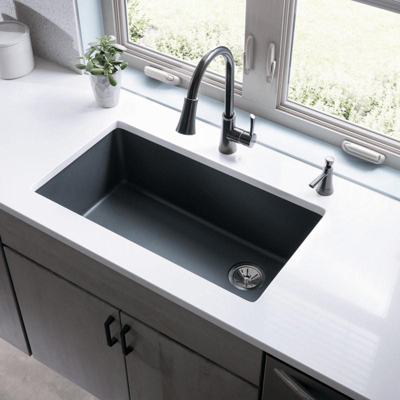 quartz kitchen sinks Charlotte