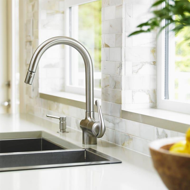 modern kitchen faucet Charlotte
