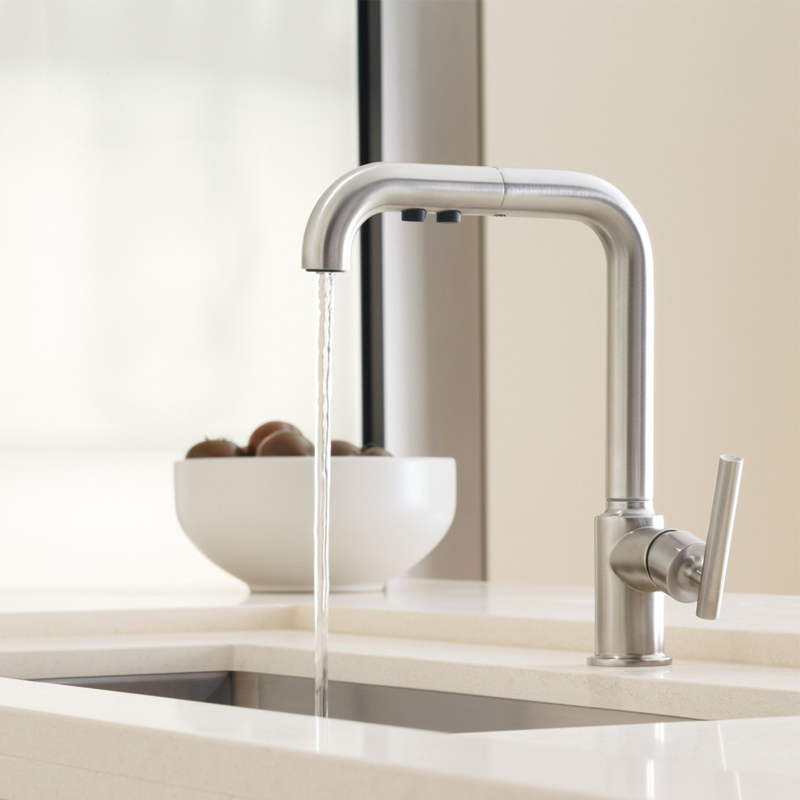 pull kitchen faucet Charlotte