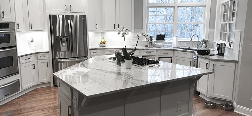 Functional modern kitchen design Charlotte