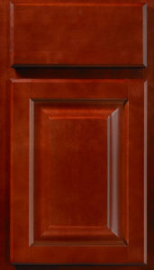 Saginaw-crimson-stain-kitchen-cabinet-door