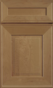 Bedford toffee finish kitchen cabinet door