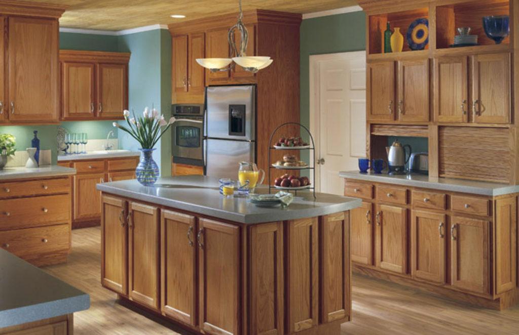Benton kitchen cabinet style