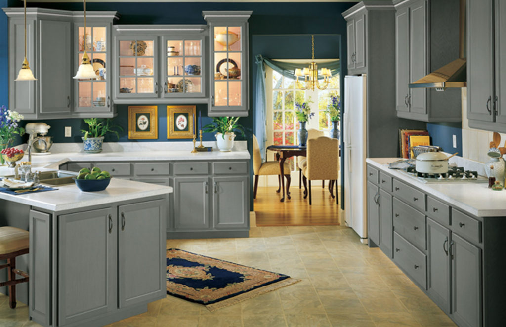 Salerno 5-piece kitchen cabinet