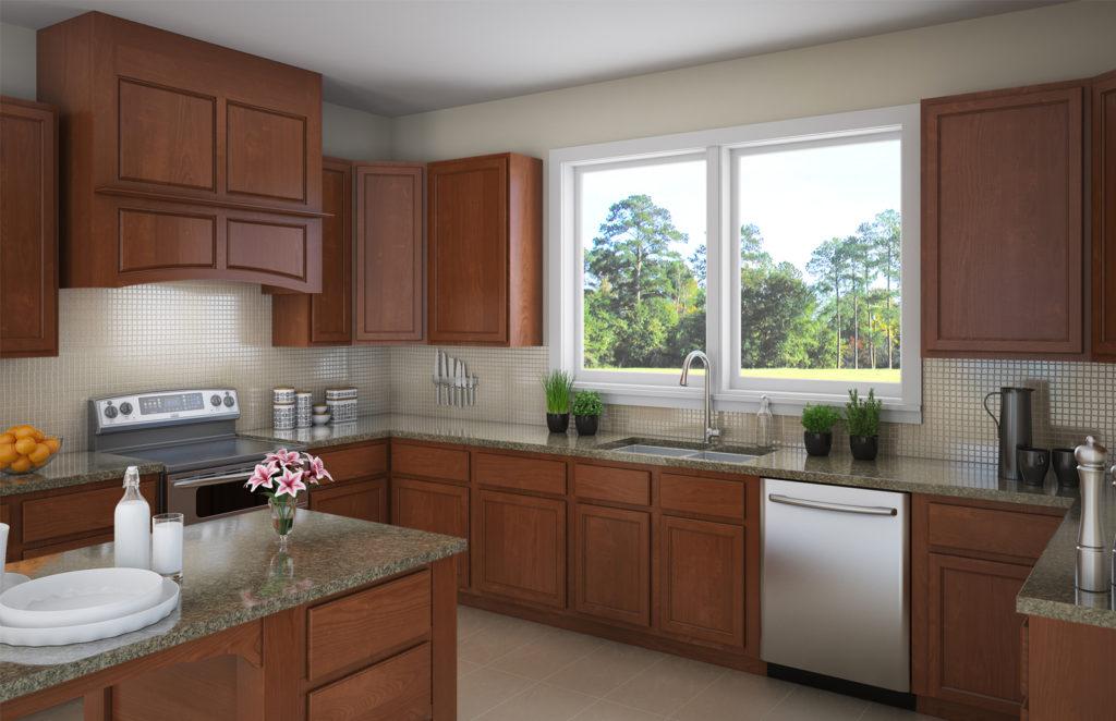 Salerno kitchen cabinet
