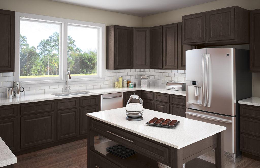 Touraine 5-piece kitchen cabinet