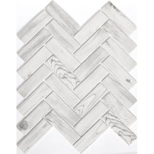 Echo-White-Herringbone