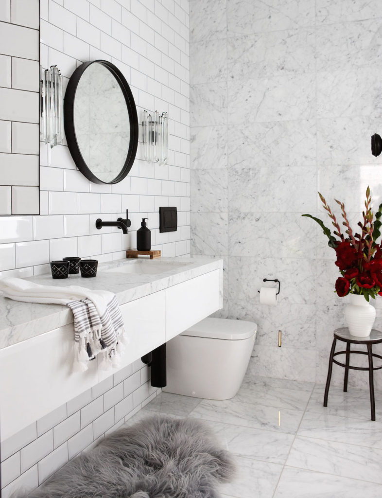 Bianco Carrara Bathroom
