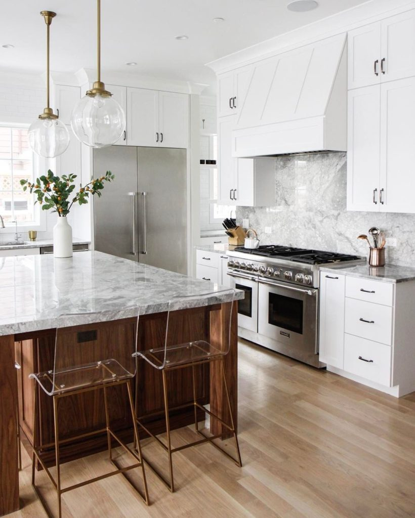 marble countertops kitchen Charlotte