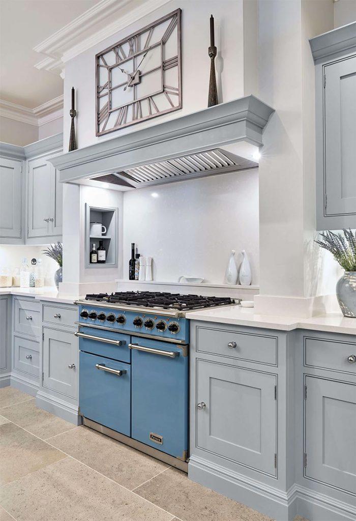 lighter blue kitchen cabinets Charlotte